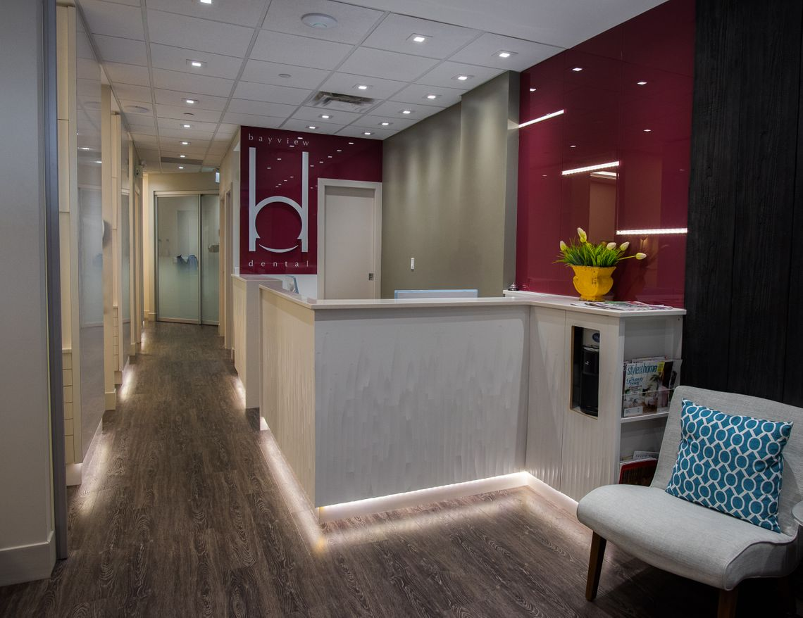 Bayview Dental Centre waiting area