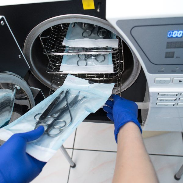 State of the art sterilization and infection control